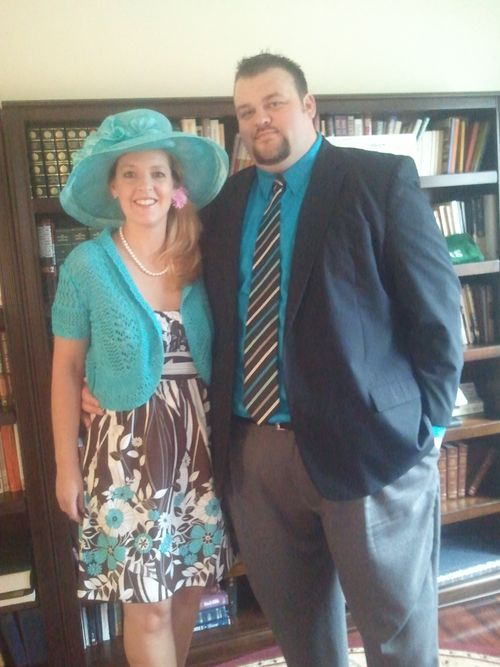 Headed to the Oaks 5.4.12.jpg